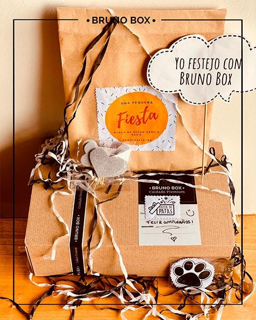 Bruno Box cumpleaños para tu perro.