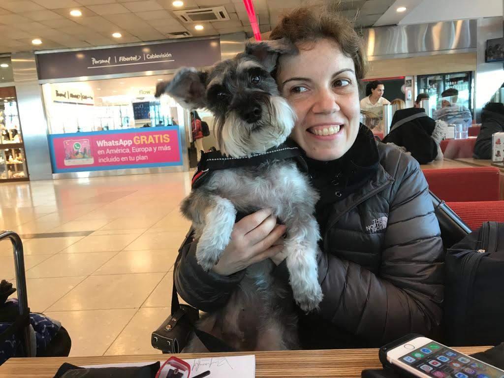 Viajar con perro de Argentina a España